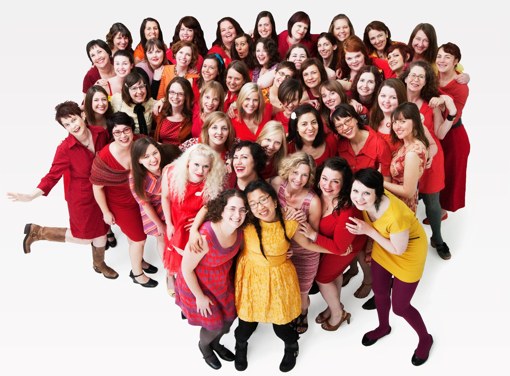 2012 Prairie Fire Lady Choir Members